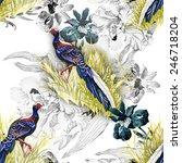 Pheasant Animals Birds In...