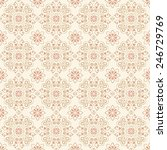 vector seamless pattern with... | Shutterstock .eps vector #246729769