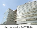 modern architecture building at ... | Shutterstock . vector #24674896