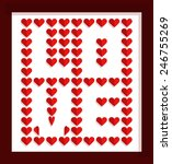 valentine's day design...   Shutterstock .eps vector #246755269