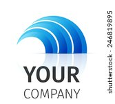 vector logo design template ....   Shutterstock .eps vector #246819895