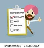 check box  businessman concept ... | Shutterstock .eps vector #246830065