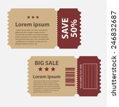 promotions big sale tags vector ... | Shutterstock .eps vector #246832687