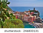 vernazza  cinque terre  italy | Shutterstock . vector #246833131