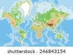Highly Detailed World Map....