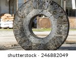 Aged Mill Wheel