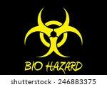 bio hazard sign   Shutterstock . vector #246883375