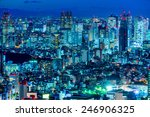 Tokyo Skyline  Shinjuku   Japan.