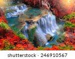 Huay Mae Kamin Waterfall ...