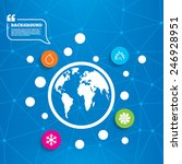 abstract world globe. hvac...   Shutterstock .eps vector #246928951