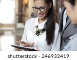 professional young  business...   Shutterstock . vector #246932419