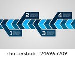 modern design layout   eps10... | Shutterstock .eps vector #246965209