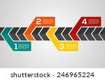 modern design layout   eps10... | Shutterstock .eps vector #246965224