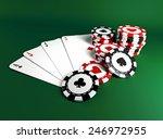casino chips   Shutterstock . vector #246972955