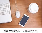 top view of the workbench | Shutterstock . vector #246989671