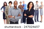 business team. group of workers ... | Shutterstock . vector #247024657