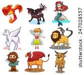 a vector illustration of fairy...   Shutterstock .eps vector #247028557
