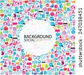 template design businessman... | Shutterstock .eps vector #247038451