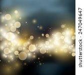 light bokeh light vector cover... | Shutterstock .eps vector #247049647