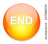 end button | Shutterstock .eps vector #247088554