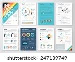 infographics flyer and brochure ... | Shutterstock .eps vector #247139749