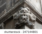 Gargoyle With Protruding Tongu...