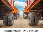 view through two rows of... | Shutterstock . vector #247145809