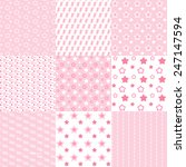 baby cute patterns collection.... | Shutterstock .eps vector #247147594