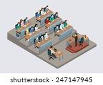 business training education... | Shutterstock .eps vector #247147945