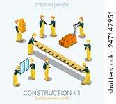 construction builders people... | Shutterstock .eps vector #247147951