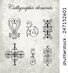 Calligraphic Elements   Wrought ...