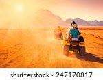 motorcycle safari egypt people... | Shutterstock . vector #247170817