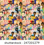seamless vector pattern with a... | Shutterstock .eps vector #247201279