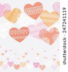 horizontal seamless texture... | Shutterstock .eps vector #247241119