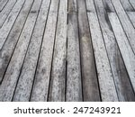 Slightly Wet  Grey Wooden...