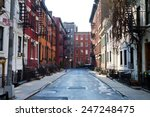 new york city   historic... | Shutterstock . vector #247248475