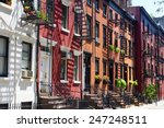 buildings on gay street in... | Shutterstock . vector #247248511
