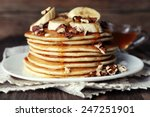Stack Of Delicious Pancakes...