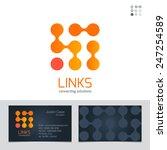 business sign   business card... | Shutterstock .eps vector #247254589