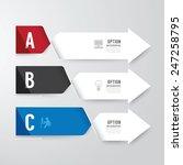 modern infographics design... | Shutterstock .eps vector #247258795