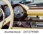 classic car interior | Shutterstock . vector #247279585
