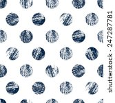 seamless pattern made with... | Shutterstock .eps vector #247287781