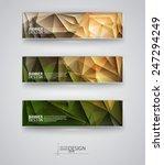web design templates. set of... | Shutterstock .eps vector #247294249