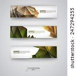 web design templates. set of... | Shutterstock .eps vector #247294255