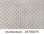 detail of diamond plate steel   Shutterstock . vector #24730075