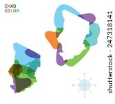 abstract vector color map of... | Shutterstock .eps vector #247318141