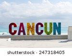 cancun   january 20  cancun... | Shutterstock . vector #247318405