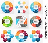 vector circle infographic.... | Shutterstock .eps vector #247327021