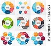 vector circle infographic.... | Shutterstock .eps vector #247327021
