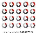 vector circle arrows for... | Shutterstock .eps vector #247327024
